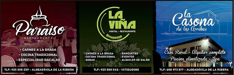 Restaurante Paraiso - Hotel - Restaurante La Viña - La Casona de las Arribes