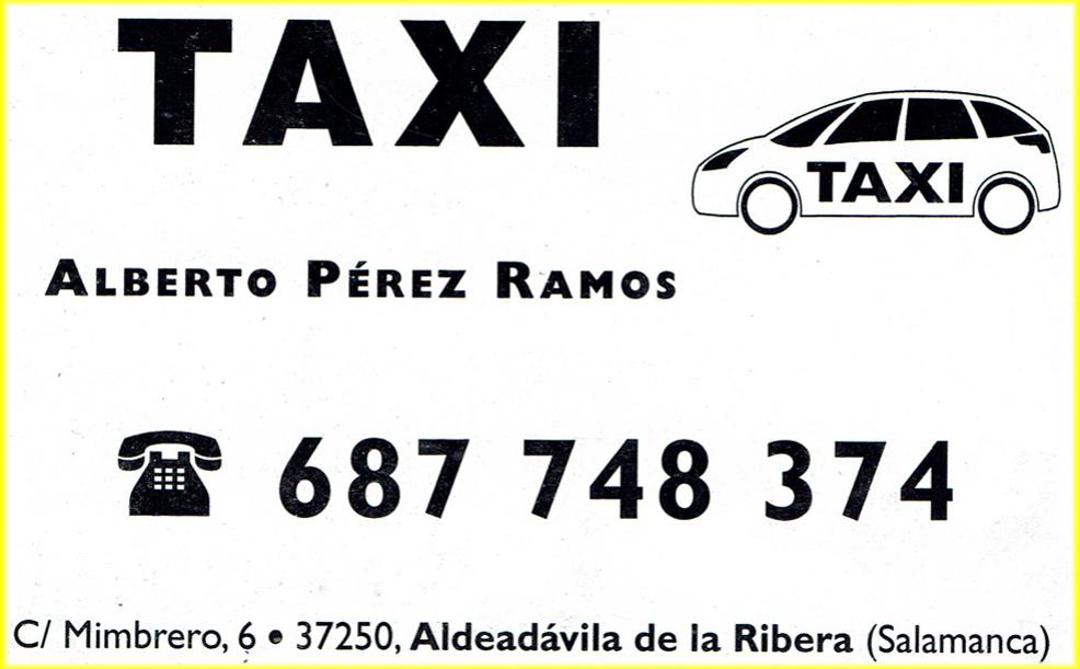 Taxi - Alberto - Aldeadávila